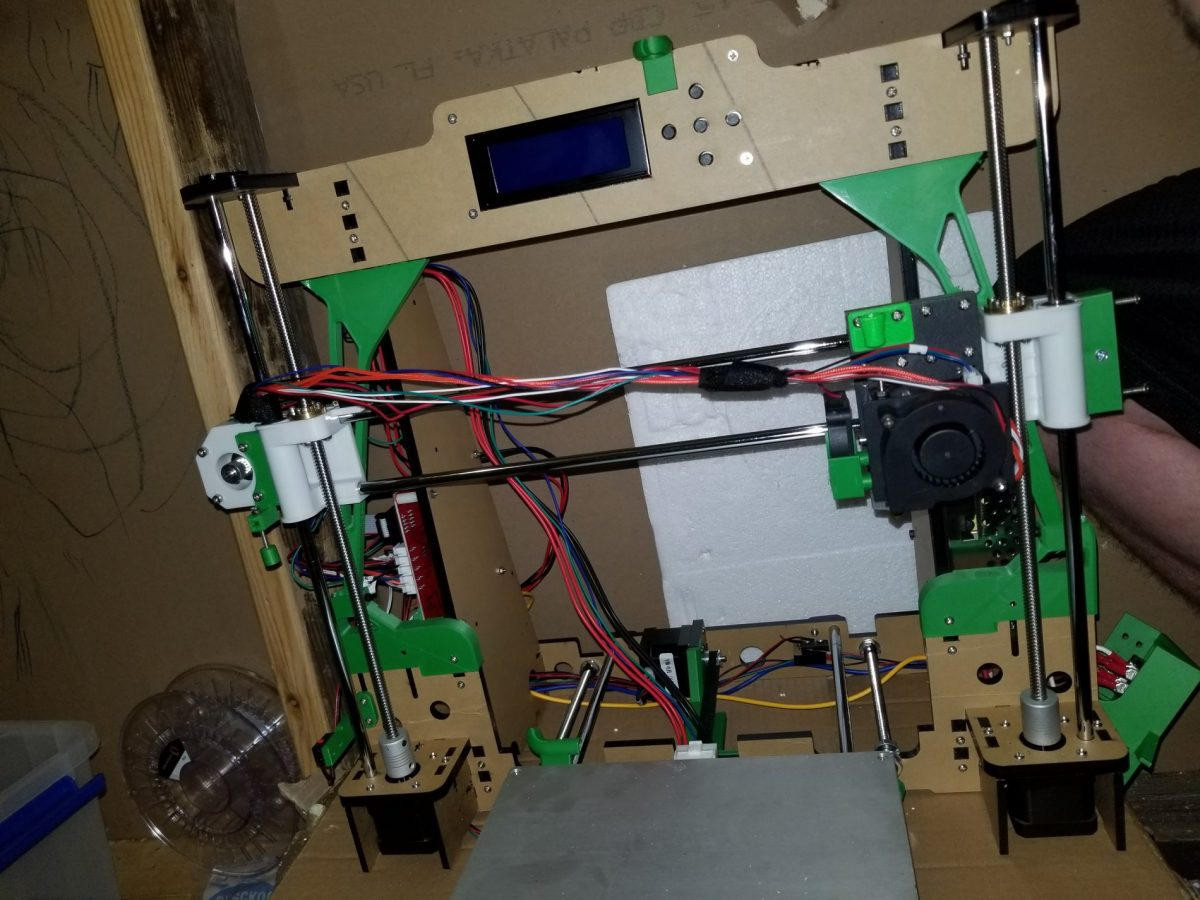 Anet A8 Minimal Safety Frame Upgrades Alien3d Is Wiring Money Safe