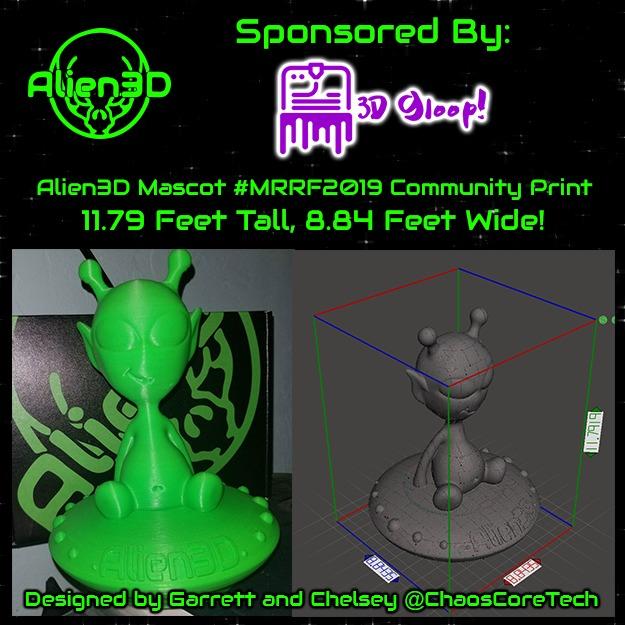 Giant Alien3D Community Build Parts