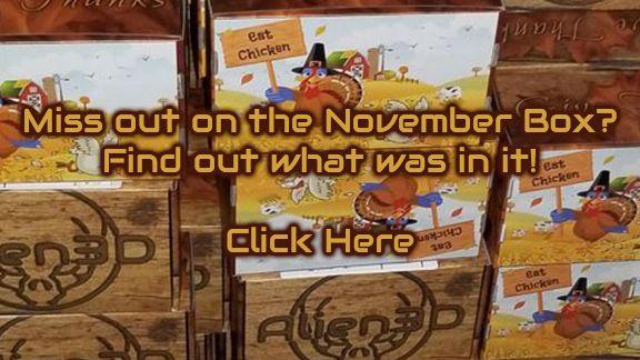 November UFO Reveal